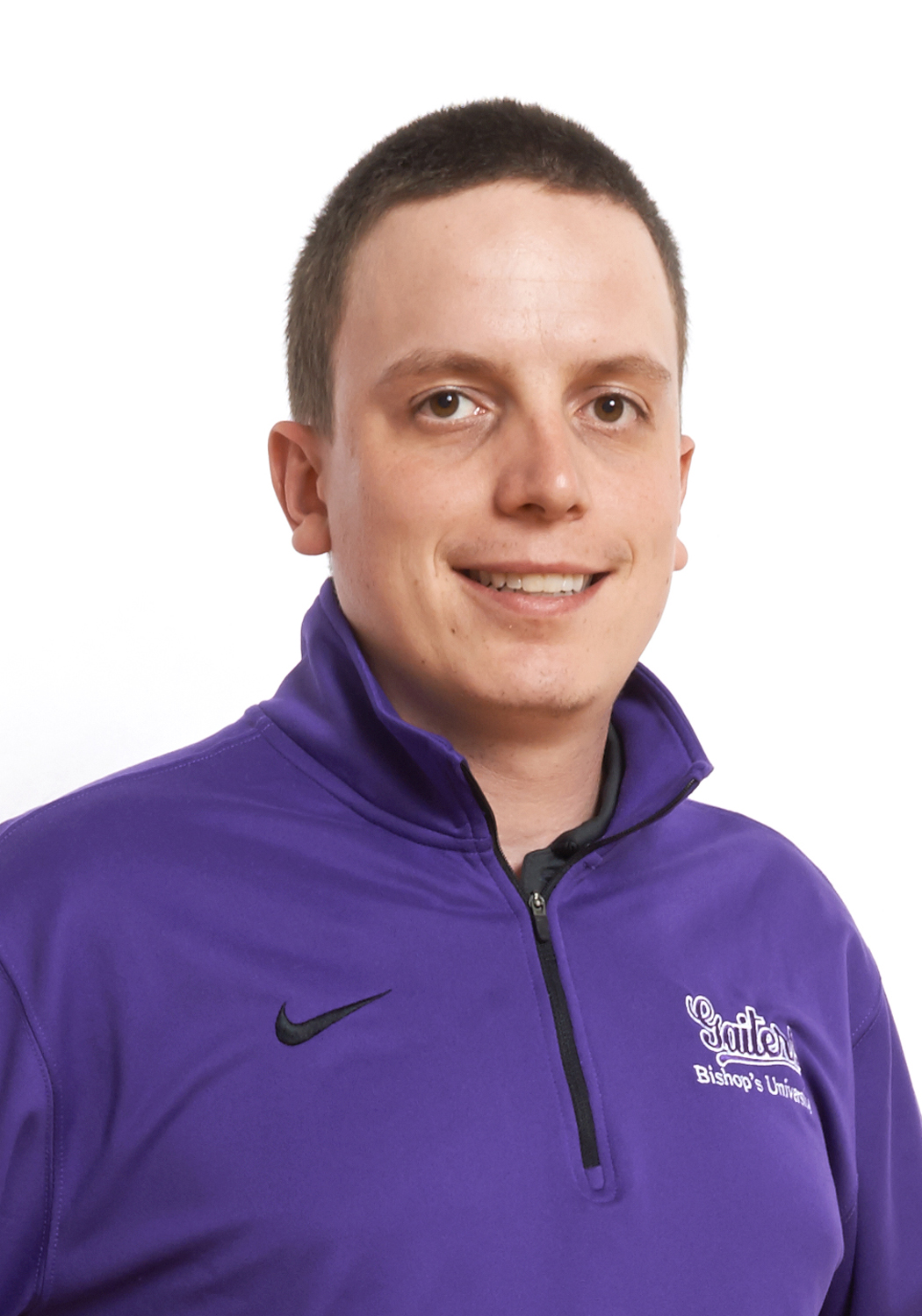 Martin Rourke, Sports Information Coordinator and Golf Coach for the Bishop's Gaiters